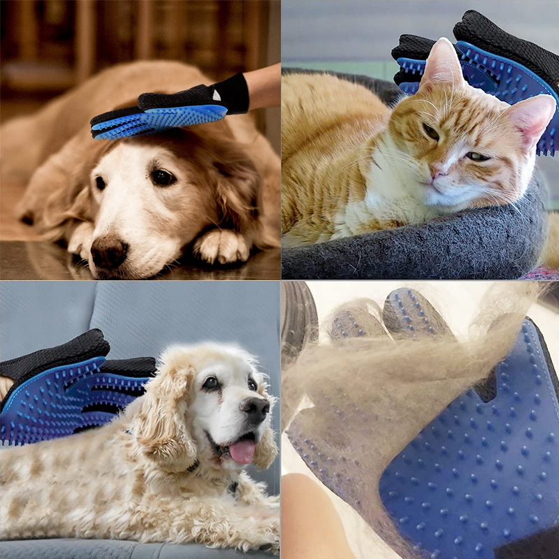 Reinigungs- und Tierpflegehandschuh