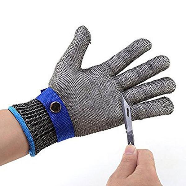 Edelstahl | Kettenhandschuhe (Demnächst verfügbar)