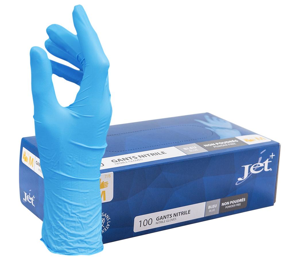 Gants  Nitril Gloves Jet
