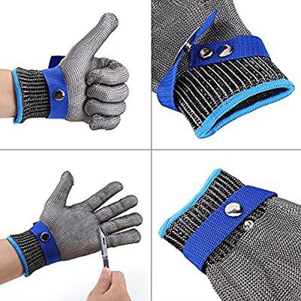 Edelstahl   Kettenhandschuhe (Demnächst verfügbar)