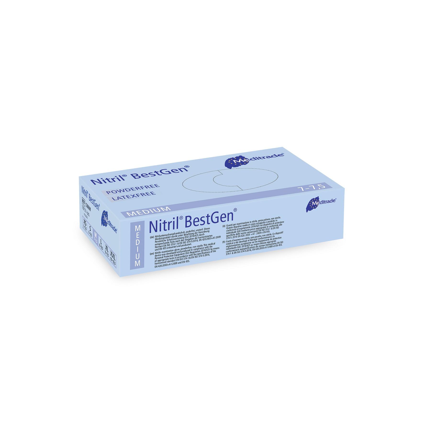 Nitril BestGen Untersuchungs- und Schutzhandschuh