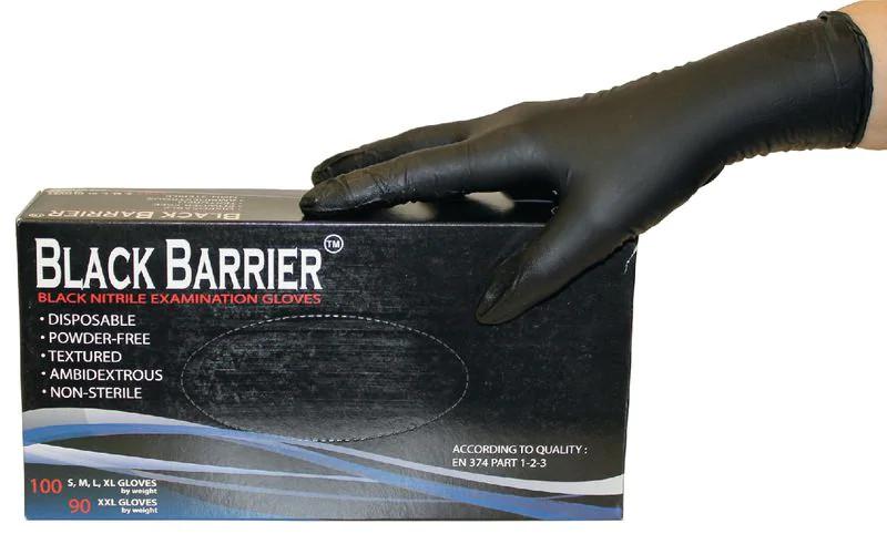 Black Barrier Nitril-Einweghandschuhe