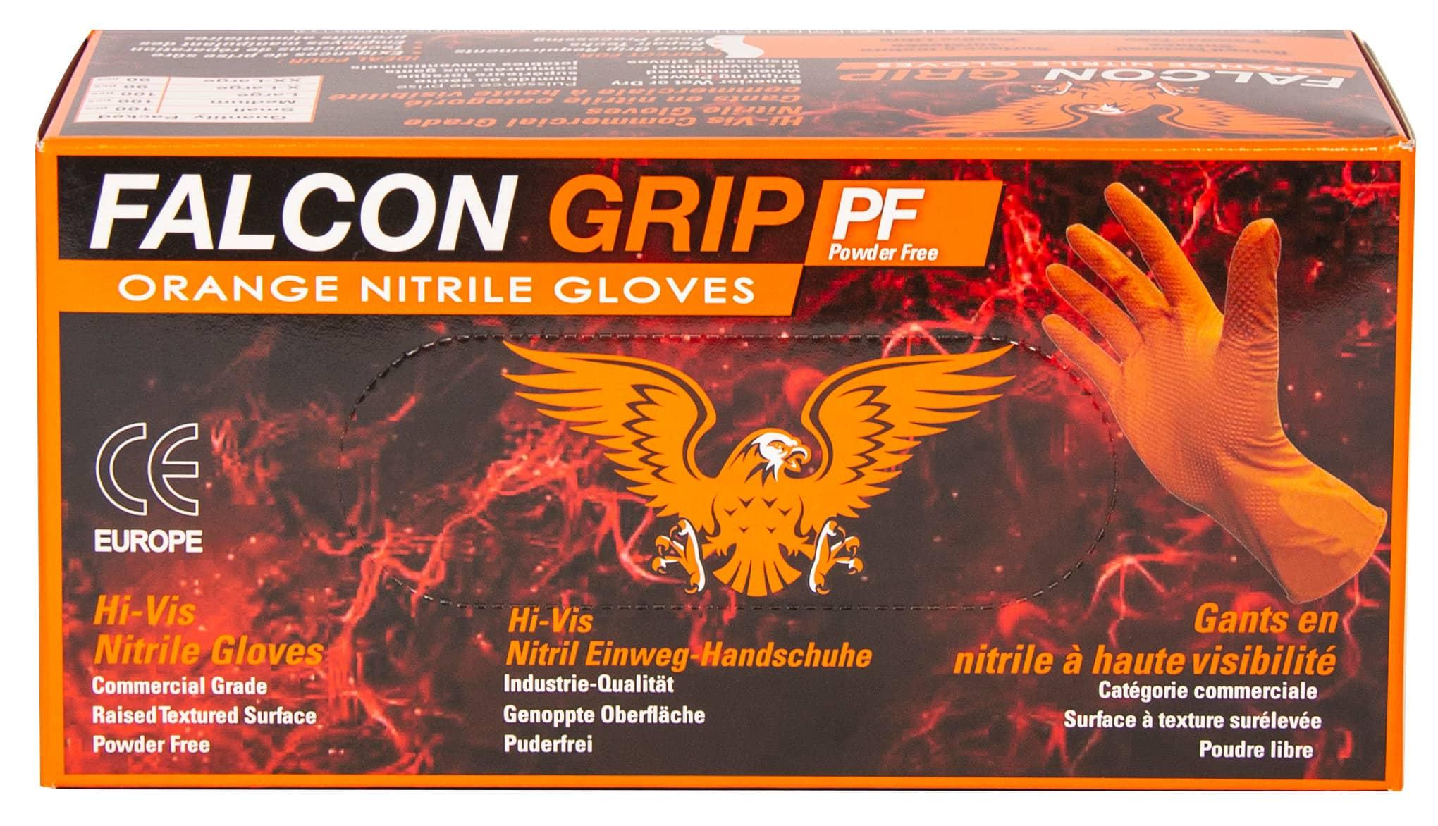 Falcon Grip Nitrilhandschuhe