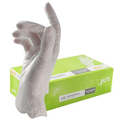 Gants Vinyl Gloves Jet