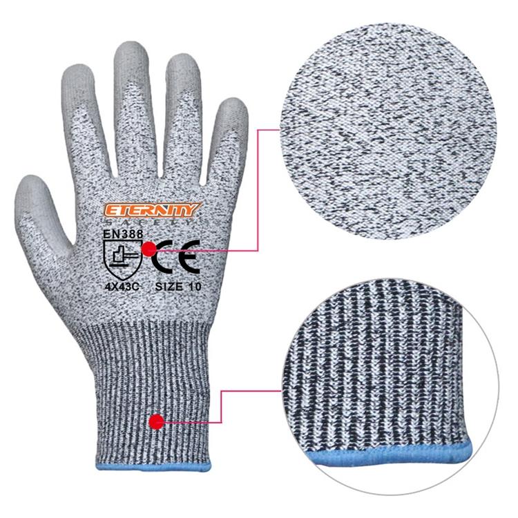 Schnittschutzhandschuh 13G HPPE Liner