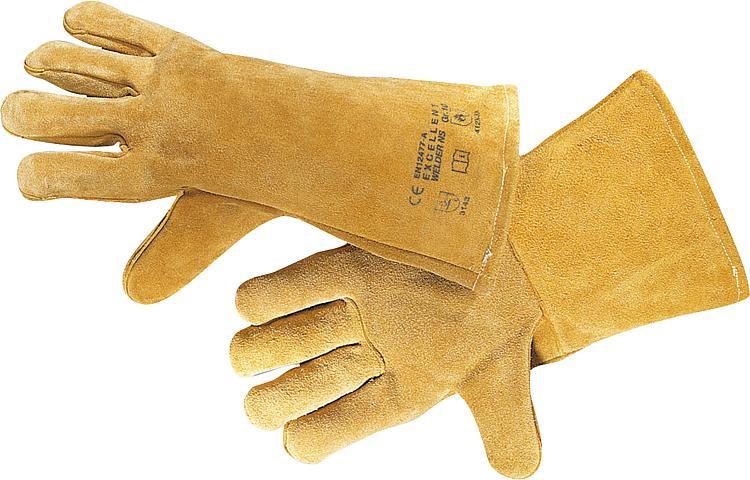 Schweißerhandschuh Rindspaltleder H580